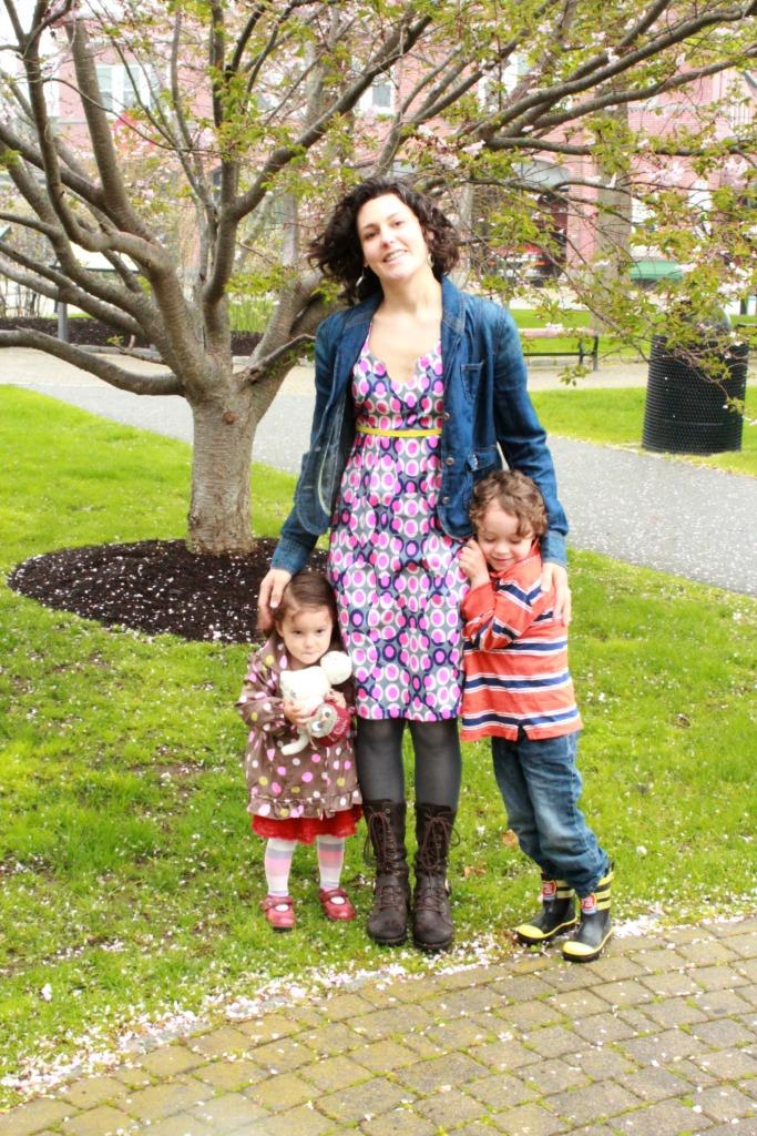 mothers day 2013 washi dress Alden Porter